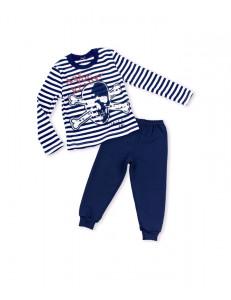 """Пижама для мальчиков с длинным рукавом """"пираты"""""""